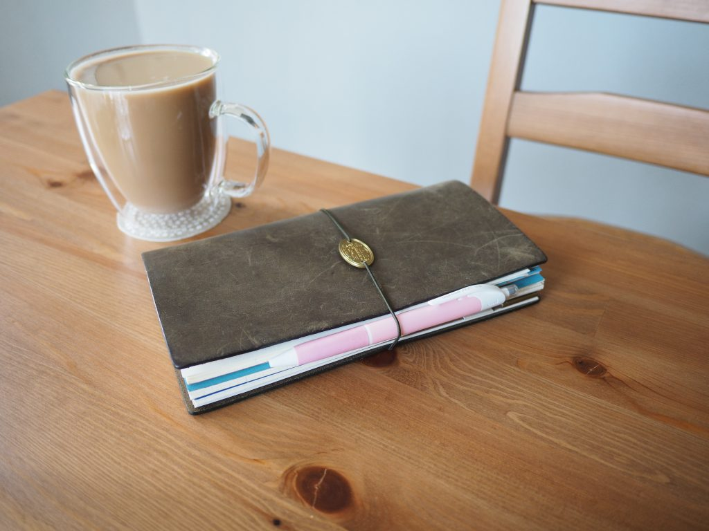 Olive Traveler's Notebook