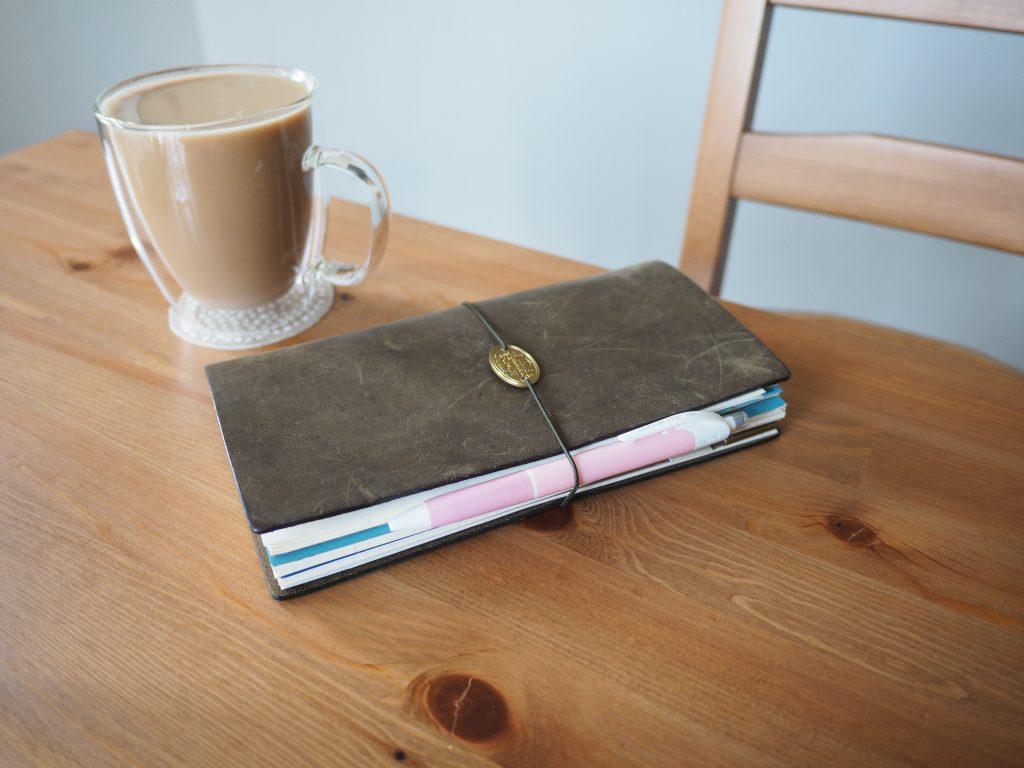 Olive Traveler's Notebook